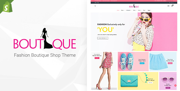 Fashion Boutique - Responsive Shopify Sectioned Theme