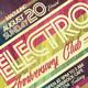 Electro Flyer/Poster Vol.4