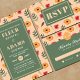 Watercolor Wedding Invitation & RSVP