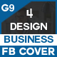 Facebook Cover Bundle - 4 Design