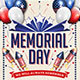 Memorial Day Labor Day 4th Of July Flyer And Poster