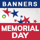 Memorial Day Banners - Images Included