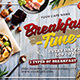 Breakfast Time Flyer