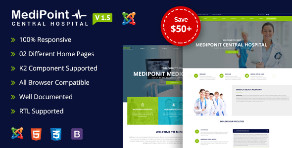 MediPoint | Joomla Medical Template