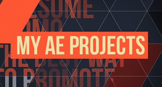 My After Effects Projects