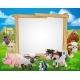 Farm Animals Cartoon Sign