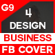 Facebook Cover Bundle(vol : 3) - 4 Design