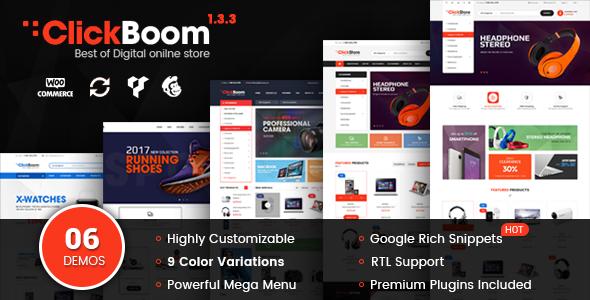 ClickBoom - WooCommerce WordPress Digital Store Theme
