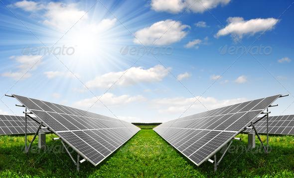 PhotoDune Solar energy panels 1955675