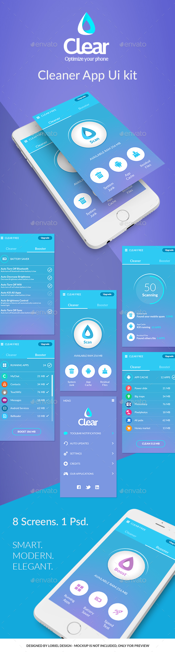 Evok Dashboard UI kit (User Interfaces)