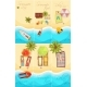 Summer Holiday Posters Set