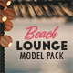 Beach Lounge Model Pack
