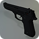 Low Poly Beretta M9