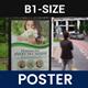 Flower Shop Signage Poster