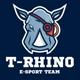 Rhino eSport Team Logo Design