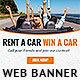 Car Rental Web Banner Ad