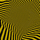 Illusion Yellow and Black Stripes