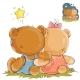 Pair of Teddy Bears