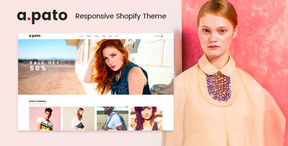 Pato - Responsive Shopify Theme