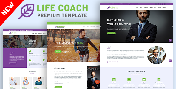Life Coach, Psychologist and Speaker Template