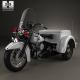 Harley-Davidson Servi-Car Police 1958