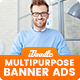 Multipurpose, Business, Corporate Banner Ad