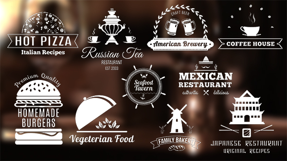 VideoHive Restaurant Banners 19983250
