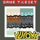 Tower Defence Game Tile Set Four