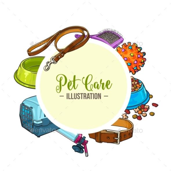 Veterinary Banner of Pet Accessories
