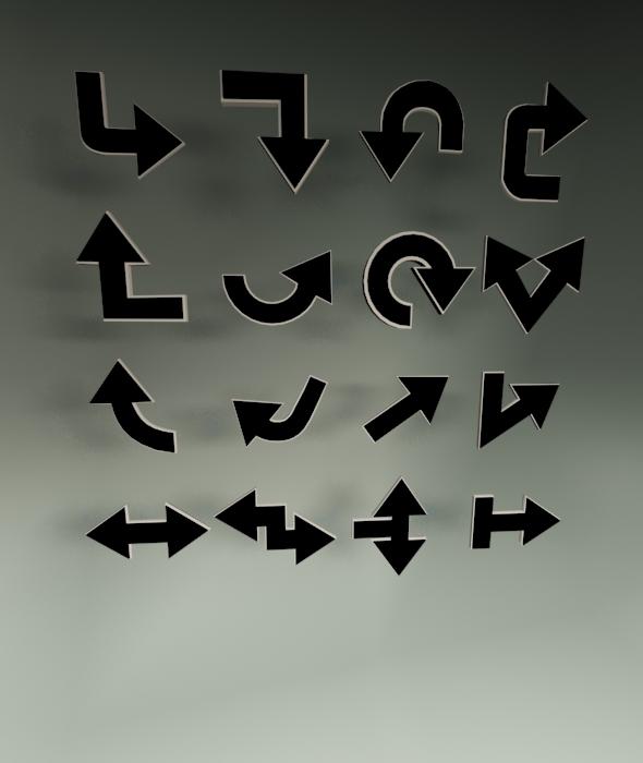 3DOcean Arrows 19983921