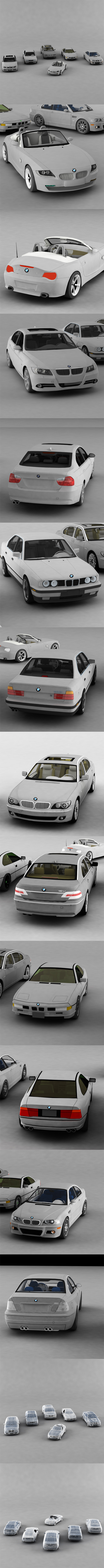 Complete Vehicle Pack BMW - 3DOcean Item for Sale