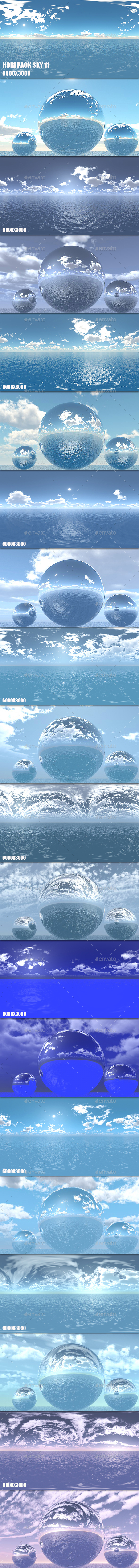 HDRI Pack Sky 12 - 3DOcean Item for Sale