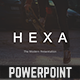 Hexa Powerpoint Template