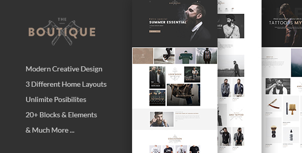 Boutique - Multipurpose eCommerce Template