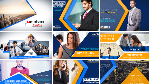 Corporate company profile corporate after effects for Company profile after effects templates free download