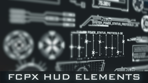 HUD Elements for FCPX