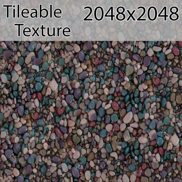 Gravel-00325-texture - 3DOcean Item for Sale