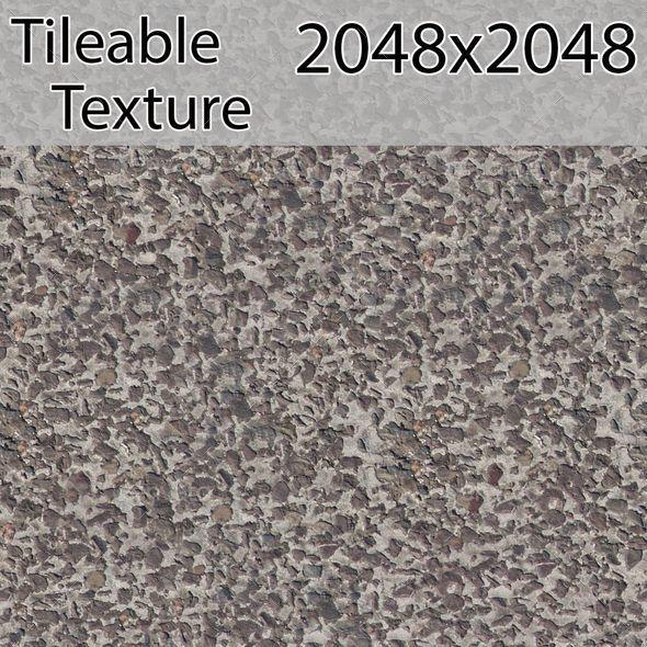 Gravel-00277-texture - 3DOcean Item for Sale