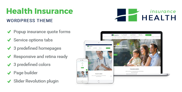 Wellness Insurance coverage – Insurance coverage WordPress Theme (Company)