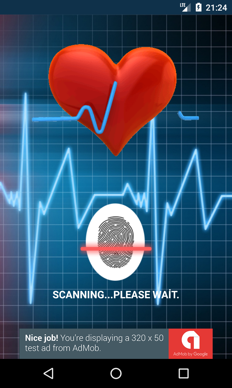 finger blood pressure prank   admob by alpersolmaz