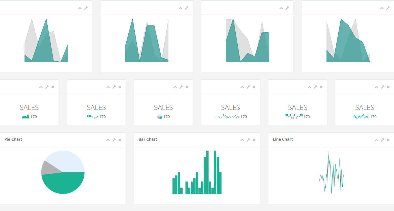 Responsive Prepared to Use Charts – Finecharts (Charts and Graphs)