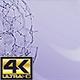 Plexus Sphere Background 4K Ultra HD