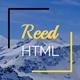 Reed - Minimal Personal Portfolio