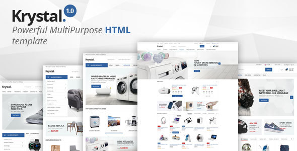 Krystal - Multipurpose HTML Template