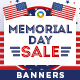Memorial Day Banners