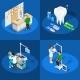 Dentistry Isometric Design Concept