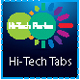 Hi-Tech Tabs - Effective and Animated Design