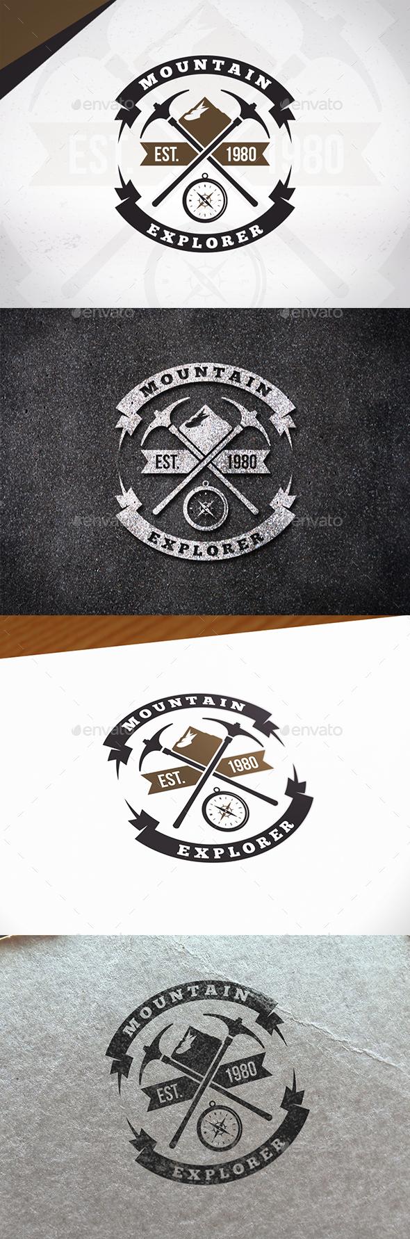 Mountain Explorer Logo Template