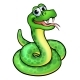 Cartoon Snake Character