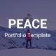 Peace - Personal Portfolio Template